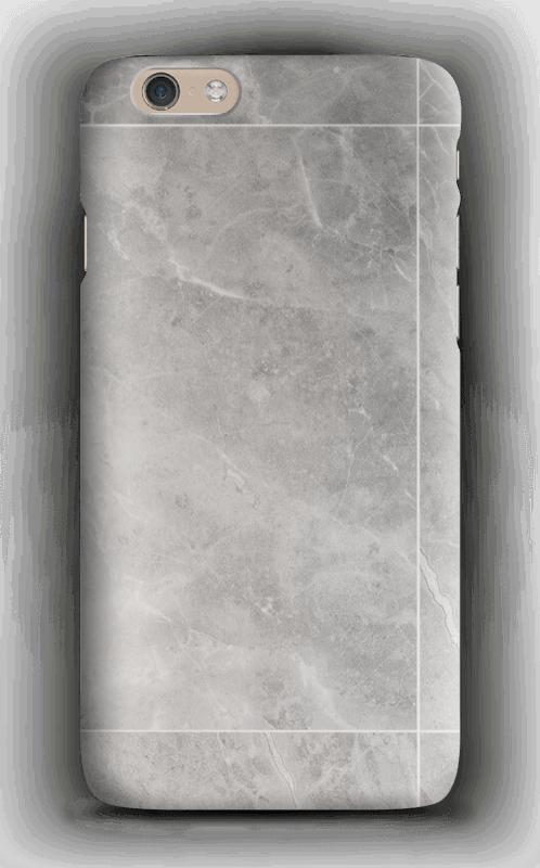 Grå marmordrøm deksel IPhone 6