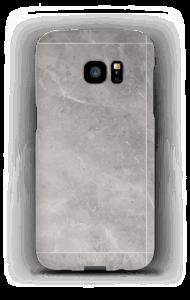 Grå marmordrøm deksel Galaxy S7 Edge