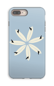 Surffikukka kuoret IPhone 8 Plus tough