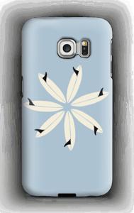 Surffikukka kuoret Galaxy S6 Edge