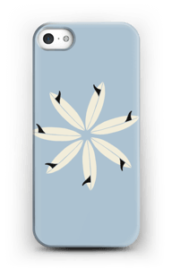 Surfboard Flower case IPhone SE