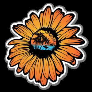 Sunflower Surf  sticker