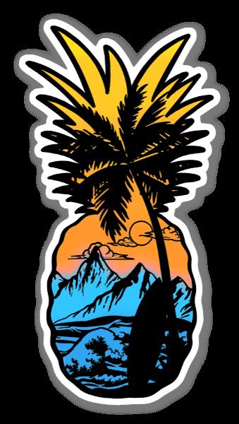 Palmananas sticker
