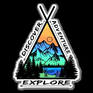 Explore, Discover…ADVENTURE  sticker