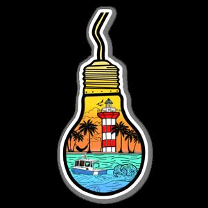 HHI light sticker