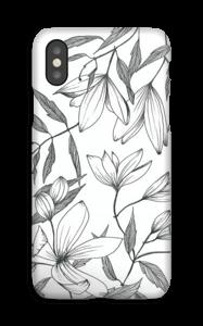 Clématite Coque  IPhone XS
