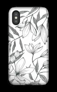 Clématite Coque  IPhone XS tough