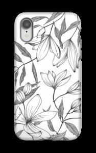Clématite Coque  IPhone XR tough
