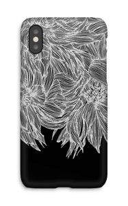 Dahlia funda IPhone X