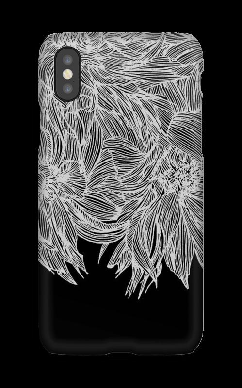 Dahlia noir Coque  IPhone X