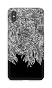 Dahlia noir Coque  IPhone XS Max