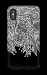 Dahlia noir Coque  IPhone XS tough