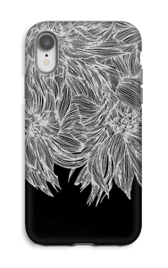 Dahlia noir Coque  IPhone XR tough