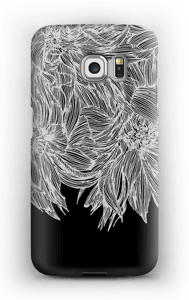 Dahlia noir Coque  Galaxy S6 Edge