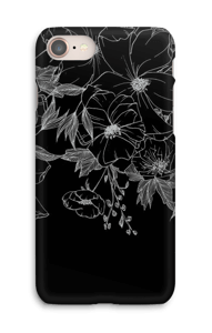 Tattoo floral Coque  IPhone 8
