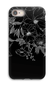 Tattoo floral Coque  IPhone 8 tough