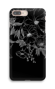 Tattoo floral Coque  IPhone 8 Plus