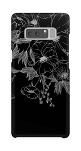 Tattoo floral Coque  Galaxy Note8