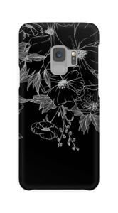 Tattoo Floral funda Galaxy S9