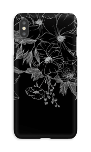 Tattoo floral Coque  IPhone XS Max