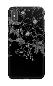 Tattoo floral Coque  IPhone XS Max tough