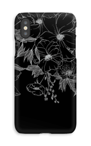 Tattoo floral Coque  IPhone XS