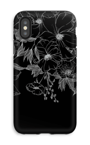 Tattoo floral Coque  IPhone XS tough
