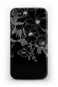 Tattoo floral Coque  IPhone 4/4s