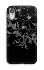 Tattoo floral Coque  IPhone XR tough