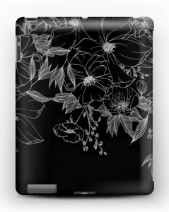 Tattoo floral Coque  IPad 4/3/2