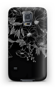 Tattoo floral Coque  Galaxy S5