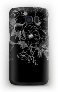 Tattoo floral Coque  Galaxy S6