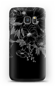 Kukkatatuointi kuoret Galaxy S7