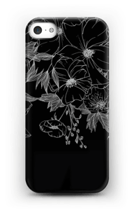 Tattoo floral Coque  IPhone SE