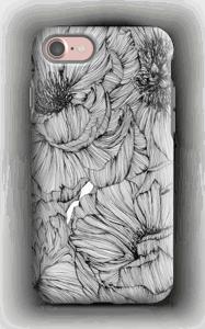 Black Paeonia Coque  IPhone 7 tough