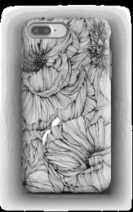 Black Paeonia Coque  IPhone 7 Plus tough