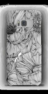 Black Paeonia Coque  Galaxy S8