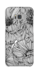 Black Paeonia Coque  Galaxy S8 Plus