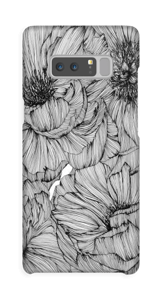 Black Paeonia Coque  Galaxy Note8