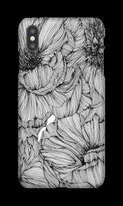 Black Paeonia Coque  IPhone XS Max