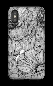 Black Paeonia Coque  IPhone XS tough