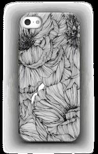 Black Paeonia Coque  IPhone 5/5S