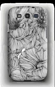 Black Paeonia Coque  Galaxy S3