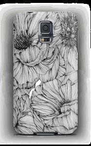 Black Paeonia Coque  Galaxy S5