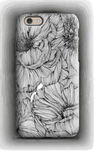Black Paeonia Coque  IPhone 6 tough