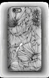 Black Paeonia Coque  IPhone 6s Plus tough