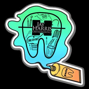 J. Harris custom sticker