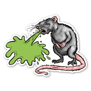 Rat Barf sticker