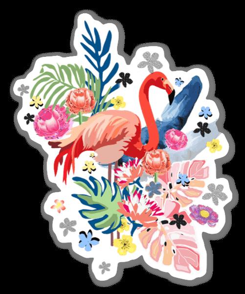Flamingo Liebe sticker
