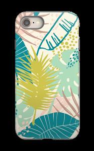 Jungle pastelle Coque  IPhone 8 tough
